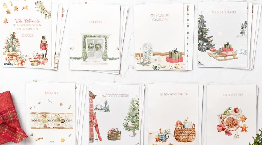 Christmas Planner 2021 Chapter spread